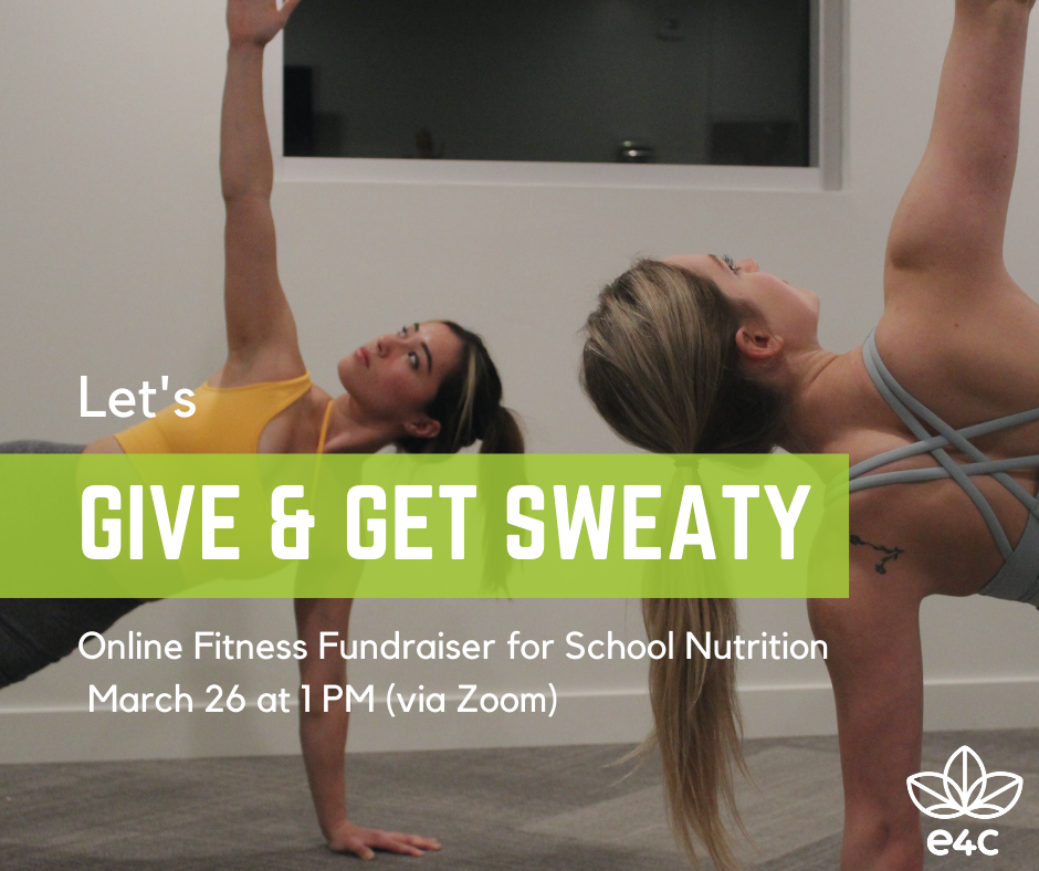 Fitness Fundraiser to support our School Nutrition Program